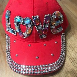 ❤️ Women's Rhinestone Studded Baseball Cap ❤️